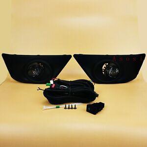 For Suzuki Grand Vitara 2012 - 2017 Bumper Fog Light Kit Full Set Driving Lamps