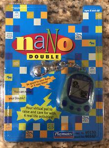 Nano Double Electronic Virtual Pet 1997 Playmates Vintage New Tamagotchi