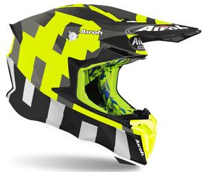 Motorradhelm Cross Airoh Twist 2 Frame Anthrazit Aprilia beta Fantic Gasgas