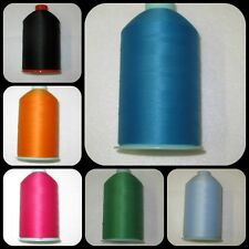Bulk  Polyester Wooly Overlocking Sewing Thread Seven Thousand Yards