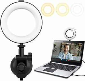 Ulanzi VIJIM 64 LED Zoom Lighting Ring Light for Laptop Video Conference Kit
