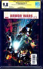 Ultimate Armor Wars #3 CGC SS 9.8 signed x2 Brandon Peterson Steve Kurth SKETCH