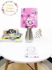 Minnie Mouse Flower Girl Baby Children Nursery Table Lamp Night Light Touch Lamp