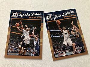 Lot De 2 NBA Panini Donruss 2016/17 New Orleans Pelicans #98 et 99