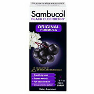 Sambucol Black Elderberry Immune System Support 4 oz