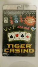 Tiger Casino ( Game.Com, 1997 ) NEW FACTORY SEALED  GAME