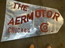 Aermotor Windmill Vane For 8ft A 702 Or A 602 With Chicago Logo New A31