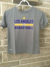 Los Angeles Lakers (Gray) Climalite Adidas Size Youth 7 NEW