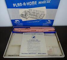 Vintage plan-a-home 3d home architect design construct your Home model kit