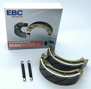 Honda C90 Cub & Many More Honda's EBC Water Grooved Brake Shoes Road Race H304G