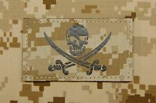 Calico Jack Infra Red NWU Type II AOR1 Call Sign Patch IR Jolly Roger