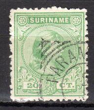 Suriname - 1892 Definitive Queen Wilhelmina Mi. 32 VFU