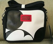 NWT MICKEY MOUSE CROSSBODY SHOULDER BAG MICKEY FACE PANTS GLOVE  ZIPPER PULL
