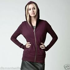 $69 Fox Racing Women's Anonymous Zip Hoody – Merlot sz M