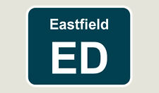 1x Eastfield Train Depot Sticker/Decal 100 x 77mm