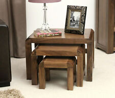 Solid Wood Square Coffee Tables with Drawers