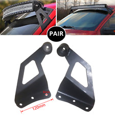 Upper Windshield Mounting Brackets Off-road Vehicle Roof LED Light Strip Bracket