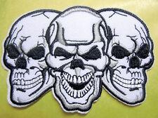 Totenkopf Aufnäher Patch Skull Death x