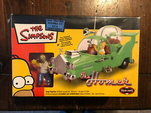 New Sealed The Simpsons Homer Car 2003 Snap Together Model Kit Collectible Rare
