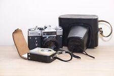 Zenit EM 1980 Olympics + Hellios 44-2 58mm F2 Biotar + Accessories
