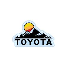 Toyota Land Cruiser Hilux 4runner 4WD 4x4 Sun Decal Stickers