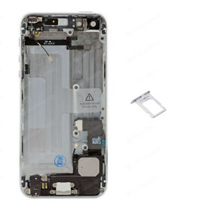 For Apple iPhone 5 - New Replacement Rear Housing Assembly - White & Silver