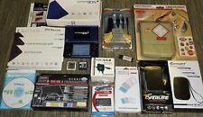 Nintendo DSi Console Bundle bleu jeux! Affaire secteur Voiture USB Chargeur Stylet Lot