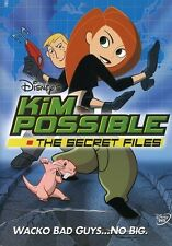 Kim Possible: The Secret Files (2003, DVD NEW) WS