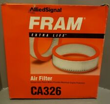 Fram CA326 Engine Air Filter Direct Replacement