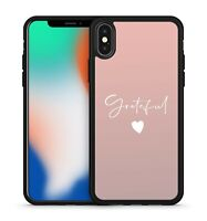 Grateful Quote Wonderful White Lovely Luscious Love Heart Fine Phone Case Cover