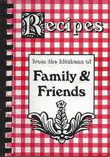 *EAST AURORA NY 1996 CAMP BLESSING FRIENDS COOK BOOK *RECIPES FROM THE KITCHENS