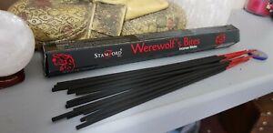 Werewolf's bite Incense Sticks for meditation, spell work, protection Free P&P