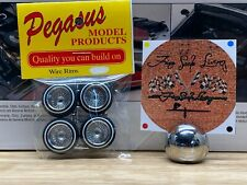 1/24 Pegasus Wire Wheels Zenith Dayton Chrome