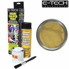 GOLD E-Tech Brake Caliper Paint Kit Also For Drums Car ETECH Engine Bay