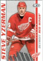 2003-04 Pacific Heads Up Hockey Card #38 Steve Yzerman - Detroit Red Wings