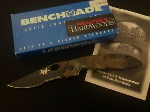 PROTOTYPE Benchmade 814SBTRT Real Tree Knife -May 2001 -814 -Collection -USA/mb