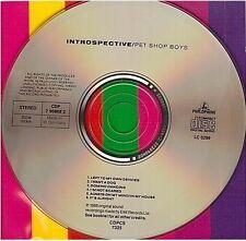 PET SHOP BOYS introspective CD ALBUM west germany CDP 7 90868 2