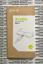 WSKEN Mini 2 Magnetic X Cable USB Charger for iPhone and iPad