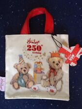 SPECIAL OFFER HAMLEYS TEDDY NEW WITH TAGS CHILDRENS TOTE BAG.IDEAL FOR XMAS.