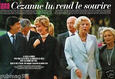Coupure de Presse Clipping 1995 (6 pages) Diana Lady Dy en France