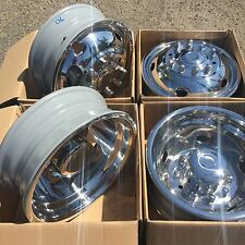 2013-2017 DODGE RAM 4500 5500 19.5 10 LUG TRUCKS WHEEL COVER WHEEL SIMULATOR SET