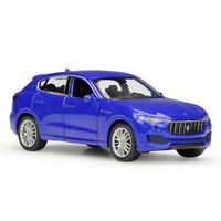 1:43 Maserati Levante SUV Model Car Diecast Gift Toy Vehicle Pull Back Blue Kids