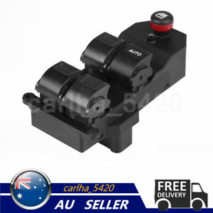 Electric Master Window Switch Driver Side For HONDA CRV 2002-2006 35760-S9A-G04