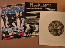 """Floorlords """"Black Ice Ride..."""" 33 RPM EP Squirtdown Records (SQ-777) punk 1986"""