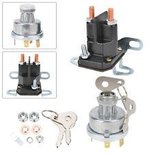 Magnetschalter für John Deere AM 130365 12V Plus//Minus getrennt,4 Anschlüsse