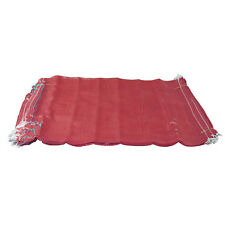 500 Red Net Sacks Mesh Bags Kindling Logs Potatoes Onions 50cm x 80cm / 30Kg