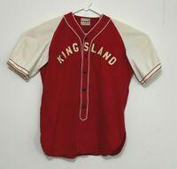 VTG 1940's (?) St Louis Missouri area baseball jersey - KINGSLAND