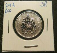 RARE! 2012 *SPECIMEN* 50 CENTS FROM RCM SET! LOW MINTAGE!