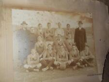 RARE Vintage Early 1900s Soccer Team Photo OVERSEAS Wanderers NY League Football