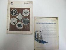 1978 Cummins Diesel Engines Trouble Shooting Guide Manual Set FACTORY OEM BOOK